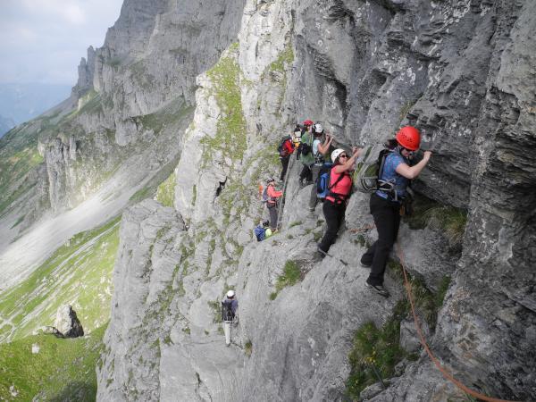 Klettersteig Tälli : Team